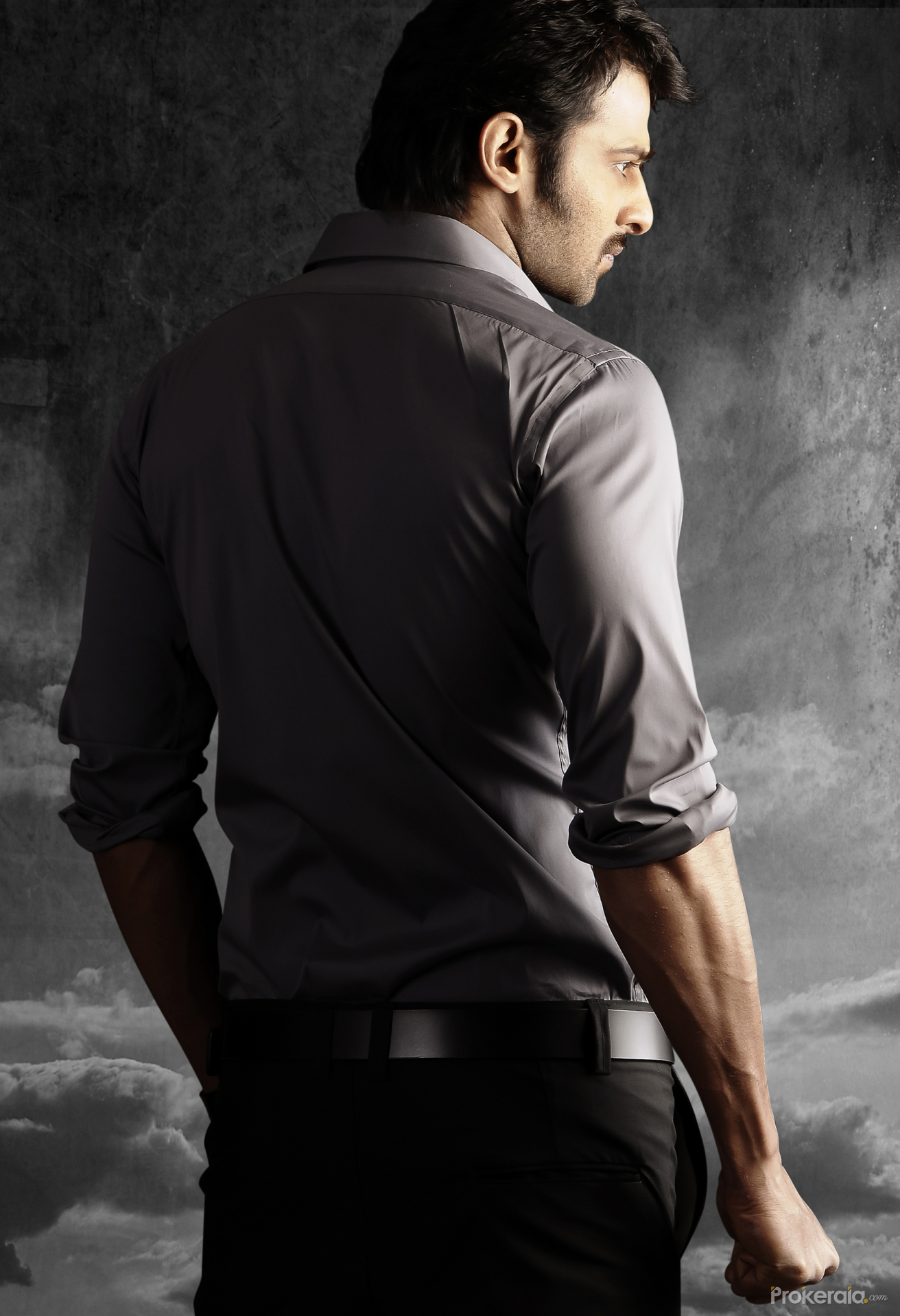 Look - Stylish prabhas images in mirchi video