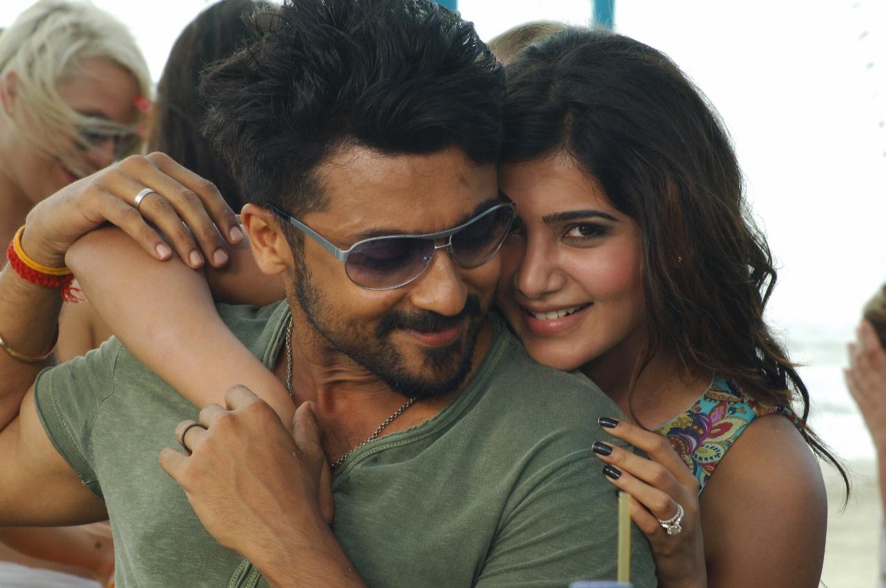 surya, samantha in movie anjaan/sikandar still # 32