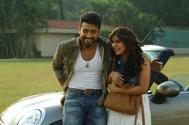 surya, samantha in movie anjaan/sikandar still # 22