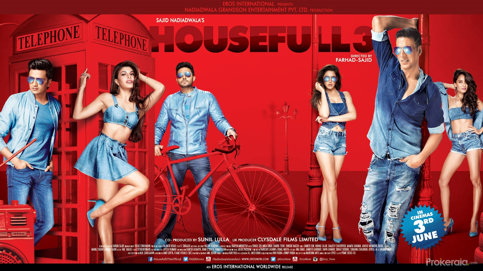 Filme indiene HouseFull 3 <br>