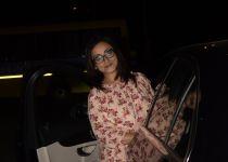 Divya Dutta spotted at kromakey juhu