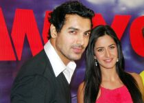 John Abraham and Katrina Kaif