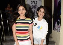 Yami Gautam and sister spotted at pvr juhu