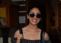 Yami Gautam  spotted at a restaurant