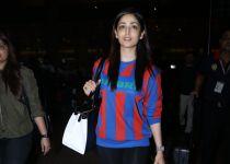 Yami Gautam Spotted At Airport