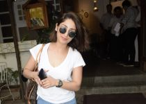 Yami Gautam spotted at Fable juhu