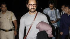 Aamir Khan Spotted At Airport