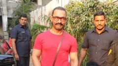Aamir khan spotted at Sukho Thai Spa
