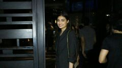 Aathiya Shetty  spotted at yautcha bkc