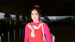Adah Sharma At International Airport