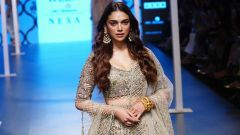 Aditi Rao Hydari At Lakme Fashion Week