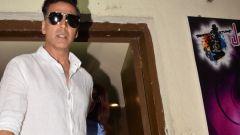 Akshay Kumar Spotted At Juhu PVR