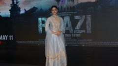 Alia Bhat  At Song Launch Of Film Raazi