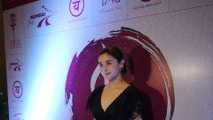 Alia Bhatt attends an art exhibition