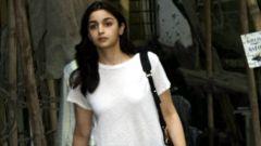 Alia Bhatt spotted at Kromakay salon
