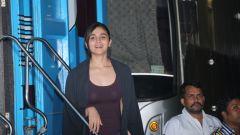 Alia Bhatt Spotted At Mehboob Studio