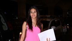 Amyra Dastur Spotted At Airport