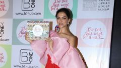 Deepika Padukone, at the Cover Launch of the Book 'The Dot That Went For A Walk'