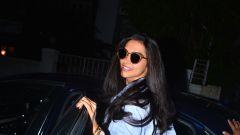 Deepika Padukone spotted at a salon