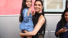 Deepika spoted at mehboob studio