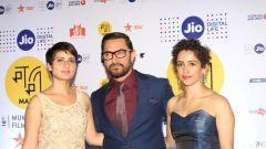 Aamir Khan @ Jio Mami 18th Mumbai Film Festival Opening Ceremony