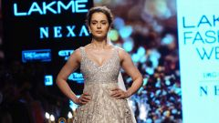 Kangana Ranaut  At Lakme Fashion Week