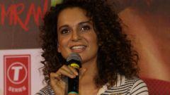 Kangana Ranaut At Trailer Launch Of Film Simran