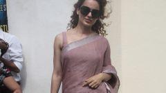 Kangna Ranaut Spotted At Juhu PVR Photos