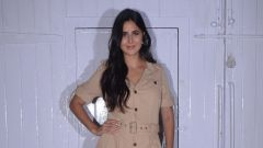 Katrina Kaif  Spotted At Mehboob Studio In Bandra