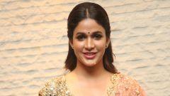 Lavanya Tripathi @ Vunnadi Okate Zindagi movie Pre Release Function