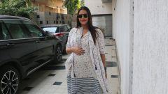 Neha Dhupia at the recording of NofilterNeha season3 in Khar