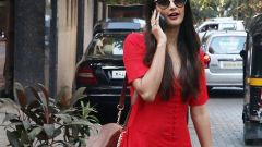 Pooja Hegde Spotted At Dinesh Vijan's Maddok Production's Office In Khar