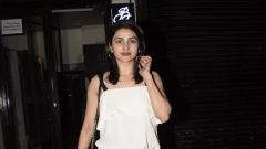 Prachi Desai Spotted At Bastian In Bandra