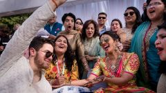 Priyanka and Nick Jonas Mehandi Pictures