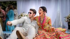 Priyanka and Nick Jonas Mehandi Pictures