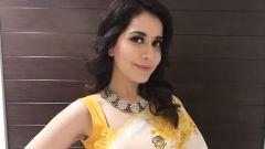 Raashi Khanna at Villain audio launch