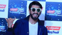Ranveer Singh at Colgate Max Fresh Event Power Freeze