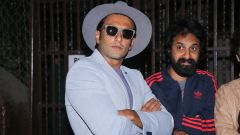 Ranveer Singh Records For Gully Boy With Young Rappers At Purple Haze Studio In Bandra