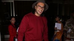 Ranveer Singh Spotted At Airport - Photos