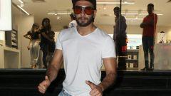 Ranveer Singh spotted at Maple store