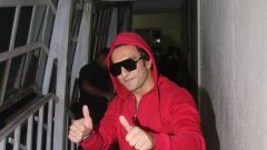 Ranveer singh spotted at Mehboob studio