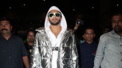Ranveer Singh With His Sister Spotted At Airport