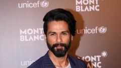 Red Carpet Of Montblanc Unicef With Shahid Kapoor