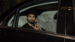 Shahid Kapoor spotted at Ekta Kapoor's house in juhu
