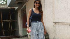 Shilpa Shetty spotted at bandra