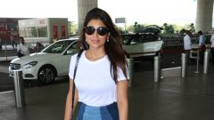 Shriya Saran Spotted At Airport