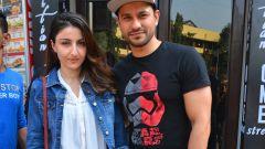 Soha Ali khan and Kunal khemu spotted at Bastian Bandra