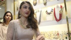 Soha Ali Khan At The Exclusive Preview Of New Collection Miraya At Curio Cottage Khar