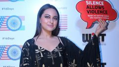 Sonakshi Sinha Attend The Awards Night For Its Short Film Festival Based On Women's Safety & Empowerment