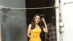Tamanna Bhatia spotted at film city